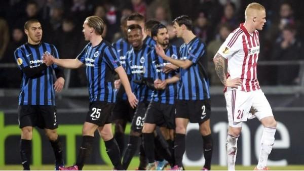 Bahis firmalarının en az şans verdiği takım Club Brugge
