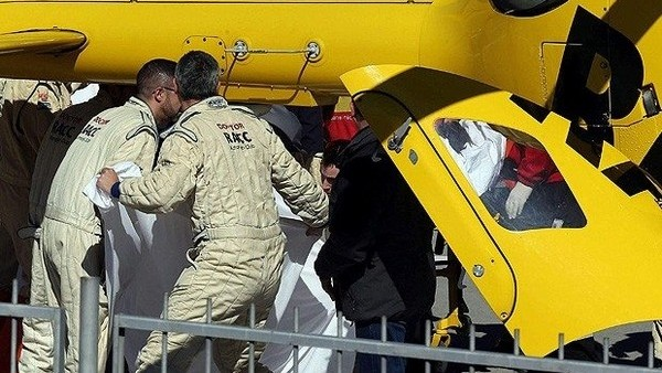 Fernando Alonso kaza geçirdi!