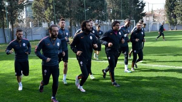 Galatasaray'da Eskişehirspor hazırlıkları başladı