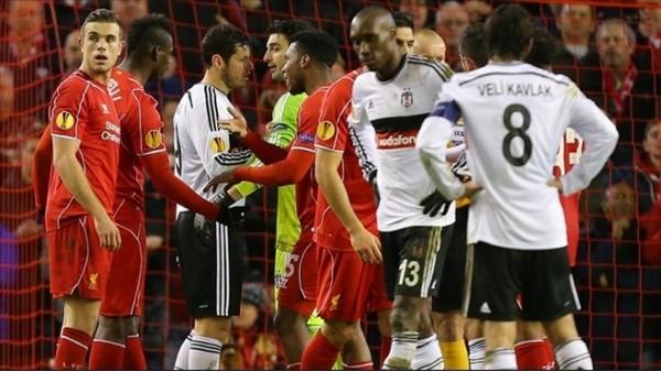 Liverpool tarihinde 3 kez penaltılarla elendi, biri Beşiktaş'a