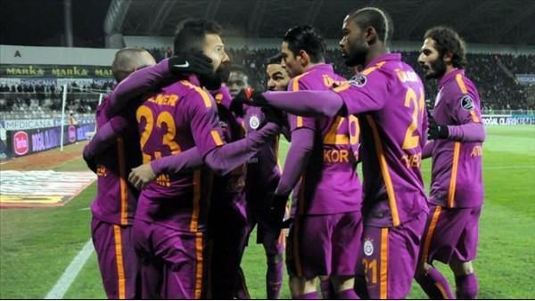 Galatasaray, Erciyesspor'a adapte oldu