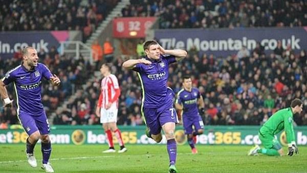 Manhcester City, Stoke City'yi 4-1 yendi