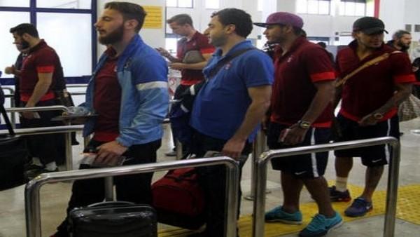Trabzonspor, İtalya'ya gitti
