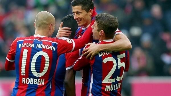 Bayern Münih, Hamburg'u dağıttı!