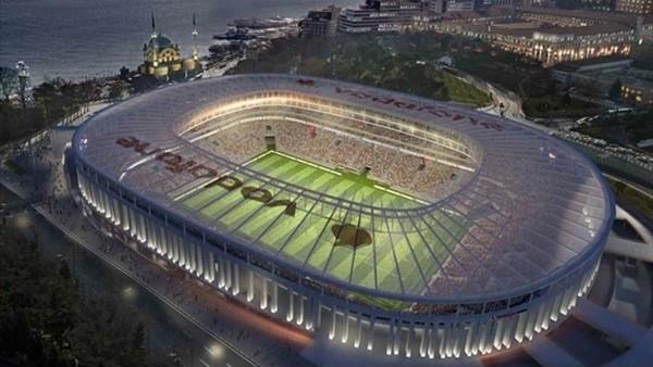 Vodafone Arena'nın açılış tarihi ne zaman?