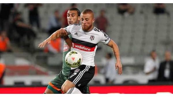 Beşiktaş, Rizespor maçının ilk yarısında 1 isabetli şut attı