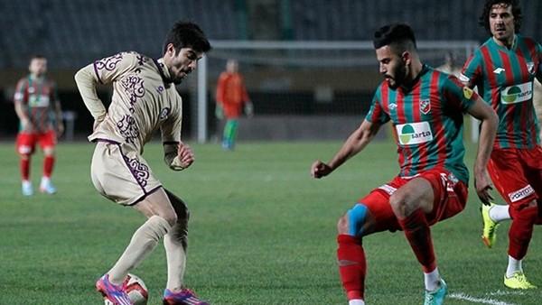 Karşıyaka ile Osmanlıspor 1-1 berabere kaldı