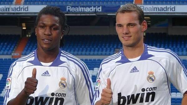 Sneijder ve Drenthe yıllar sonra bir araya geldi