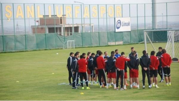 Şanlıurfaspor'da Antalyaspor hazırlıkları devam ediyor