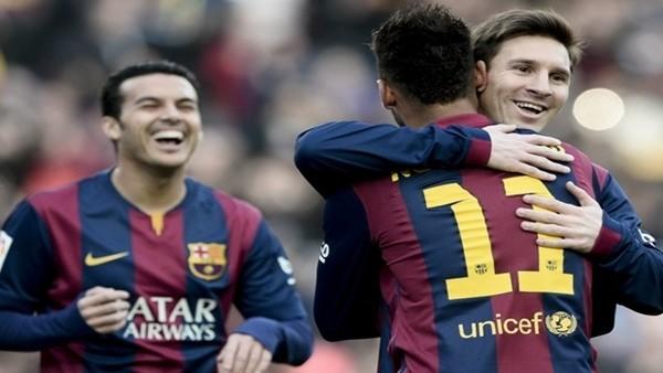Barcelona, Levante'yi 5-0 yendi