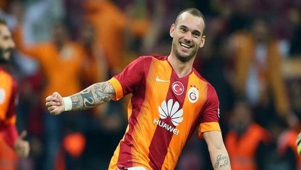 Wesley Sneijder'in Galatasaray rakamları!