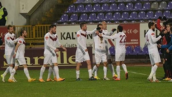 Elazığspor, Orduspor'u 6-1 yendi
