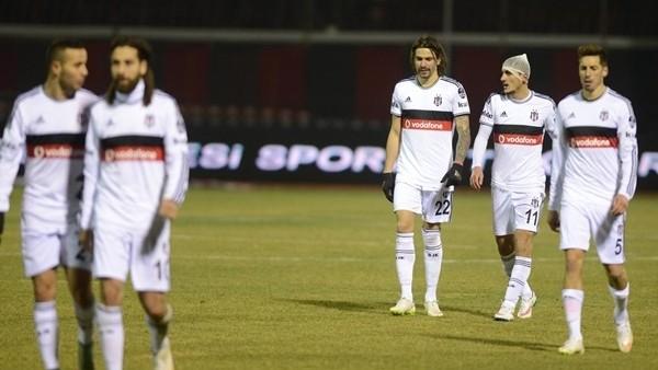 Beşiktaş, Eskişehir deplasmanında 1-0 mağlup oldu