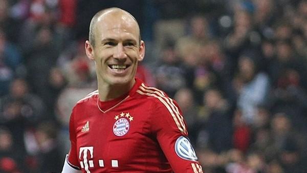 Arjen Robben'den kariyer rekoru!