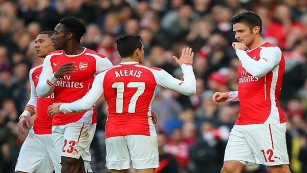 Arsenal, Middlesbrough'yu 2-0 yendi