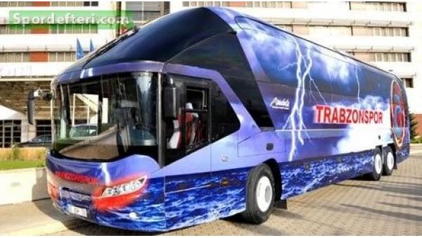 Trabzonspor'u 15 polis aracı korudu