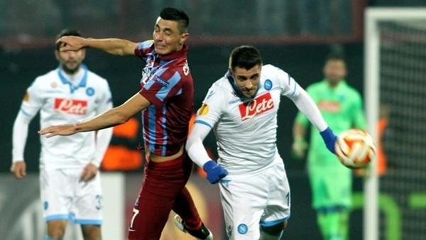 Trabzonspor, Napoli'ye konuk oluyor