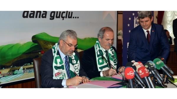 Timsah Arena, tamamen Bursaspor'un