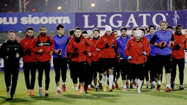 Trabzonspor, Napoli'ye hazırlanıyor