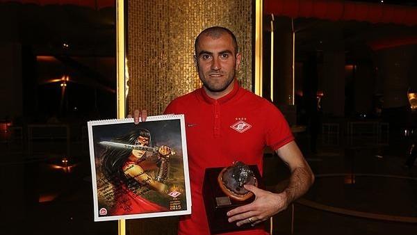 Spartak Moskova'da geçen sezonun en iyisi Movsisyan