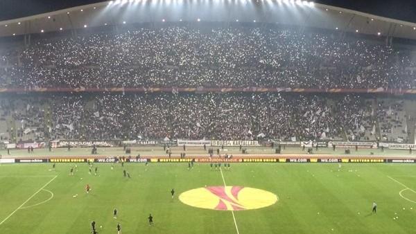 Beşiktaş taraftarları Avrupa Ligi'nde rekor kırdı!