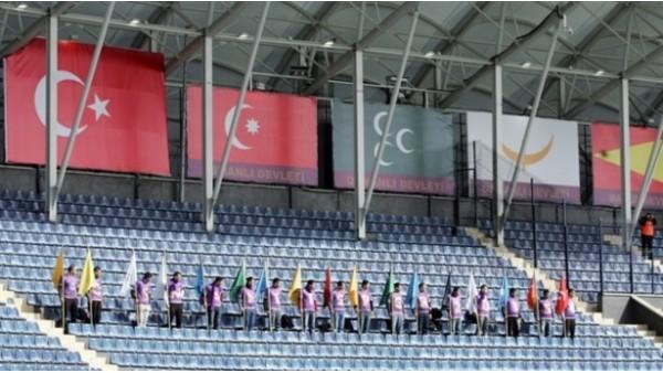 Osmanlı Stadı'nda ilginç uygulama