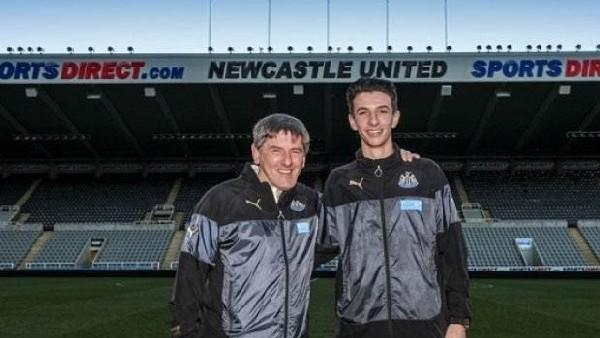 Daniel Barlaser, Newcastle United'da
