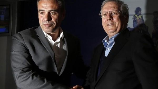 Aziz Yıldırım'dan Ersun Yanal'a: 'Tek başkan benim'