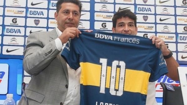 Lodeiro Boca Juniors'ta