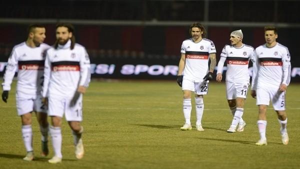 Beşiktaş'ın 6 maçlık deplasman serisini Eskişehir bitirdi