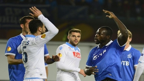 UEFA'da ilk çeyrek finalist Napoli