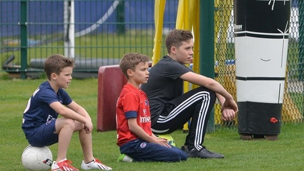 Ibrahimovic'ten Beckham'ın oğluna forma jesti