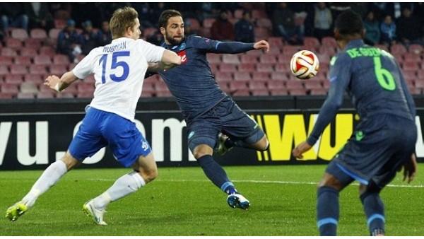 Dinamo Moskova-Napoli maçı hangi kanalda?
