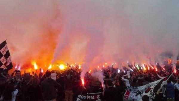 Beşiktaş'a Ümraniye'de destek