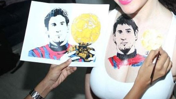 Messi sevgisi sınır tanımıyor!