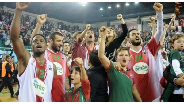 Karşıyaka, Galatasaray'ın ses rekorunu kırdı