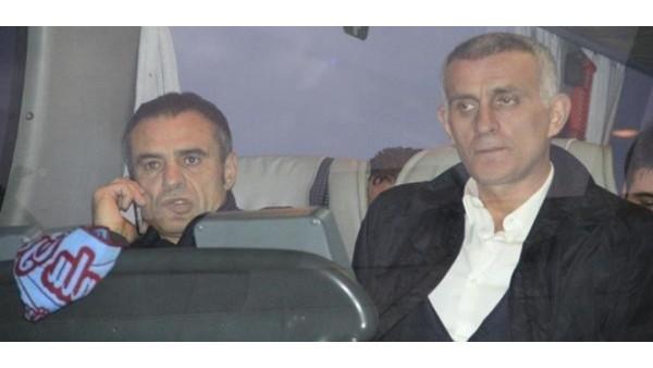 Trabzonspor'da Ersun Yanal ile İbrahim Hacıosmanoğlu buluştu