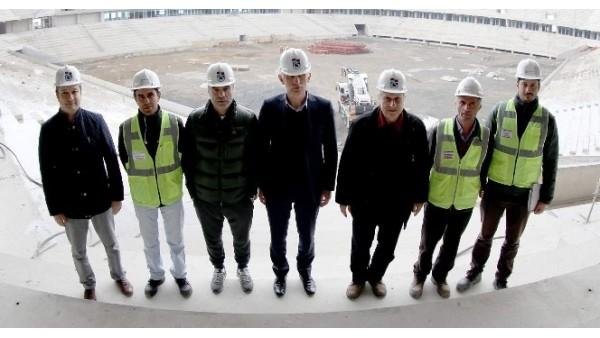 Trabzonspor'dan Akyazı Spor Kompleksi'ne ziyaret