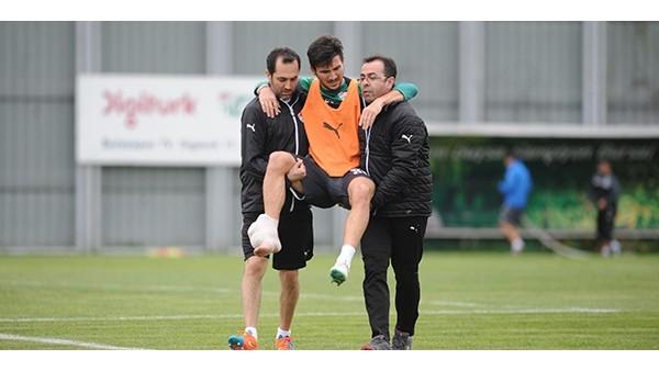 Bursaspor'a o futbolcusundan kötü haber