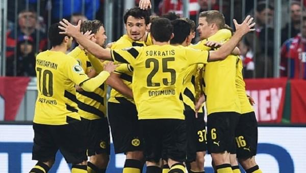 Dortmund, Bayern Münih'in kupadan 'kaydırdı'
