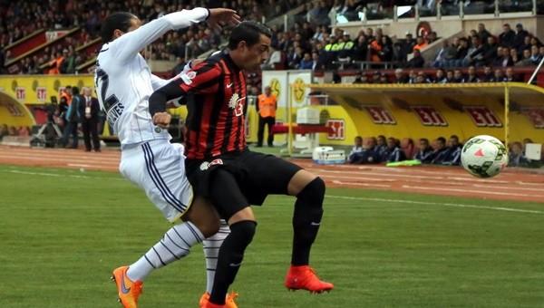 Fenerbahçe isabetli şut çekemeden golü buldu