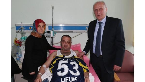 Fenerbahçe'den Ufuk Kıran'a ziyaret