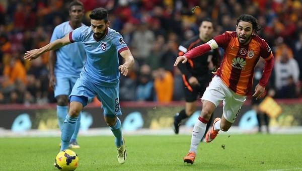 Galatasaray, Trabzon'da liderliğin peşinde