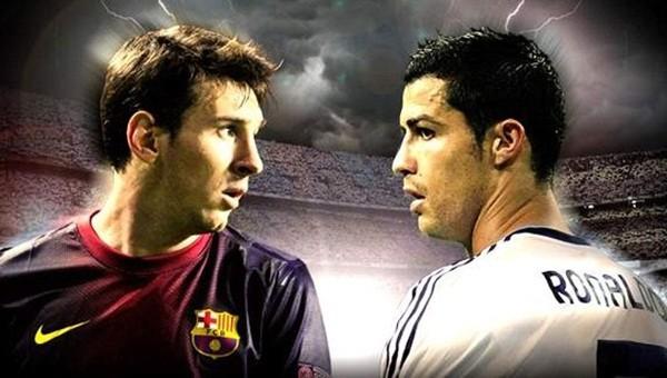 Messi Ronaldo'nun hızına yetişemedi