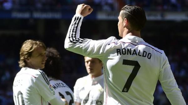 Real Madrid gol olup, yağdı