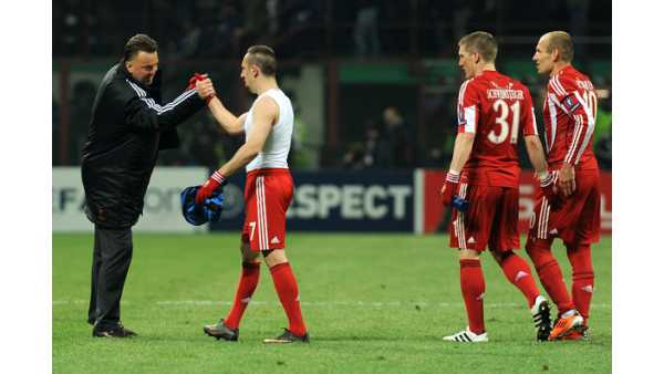 Ribery, van Gaal'i kötü adam ilan etti