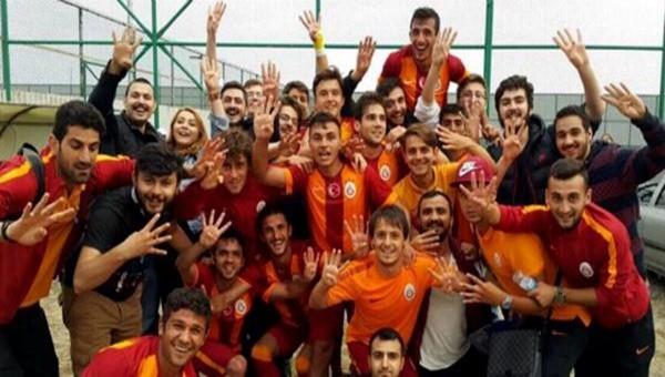 21 Yaş Altı Ligi'nde de şampiyon Galatasaray