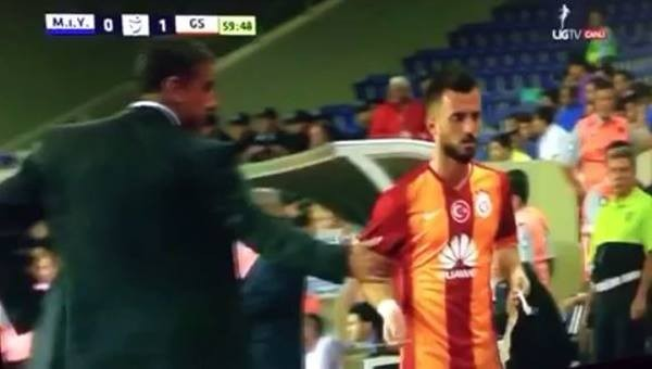 Emre Çolak'tan Hamzaoğlu'na tepki!