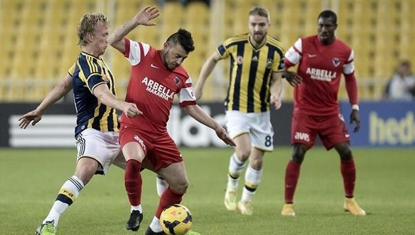 Fenerbahçe Mersin'de zor kazanıyor