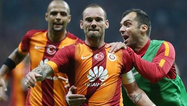 Galatasaray 1-0'a abone oldu